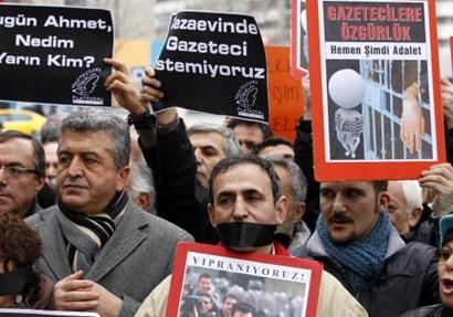 تركيا السجن الأكبر.. الصحفيون في مرمى نيران أردوغان     بوابة أخبار اليوم الإلكترونية