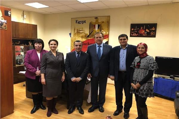 دعم التعاون في مجال الأبحاث العلمية في مصر وروسيا