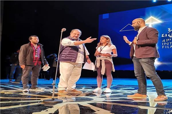 خالد الصاوي وأحمد داود ودينا الشربيني يفتتحون «مهرجان القاهرة السينمائي»
