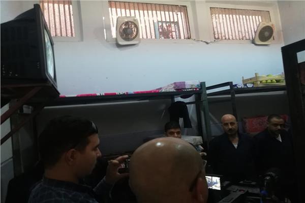تليفزيون داخل كل عنبر جولة داخل سجن برج العرب