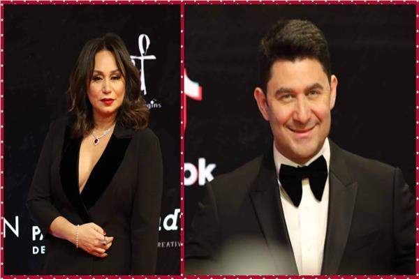 بدء توافد النجوم على حفل افتتاح مهرجان القاهرة السينمائي