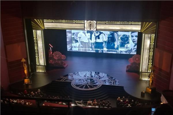 صور انطلاق حفل افتتاح «القاهرة السينمائي» بفيلم تسجيلي عن يوسف شريف رزق الله