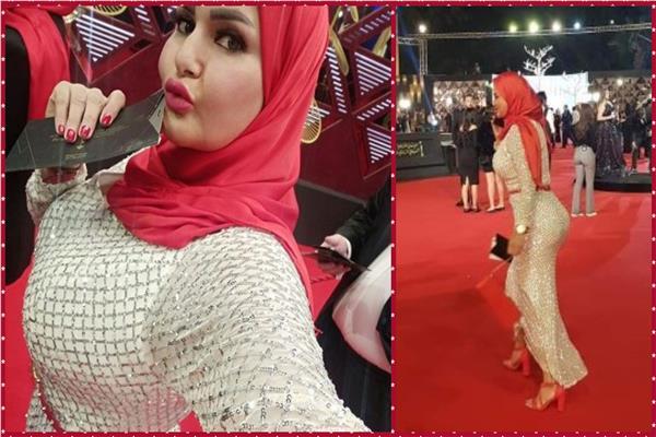شاهد سما المصري بـ«الحجاب» في مهرجان القاهرة السينمائي تعرف على السبب