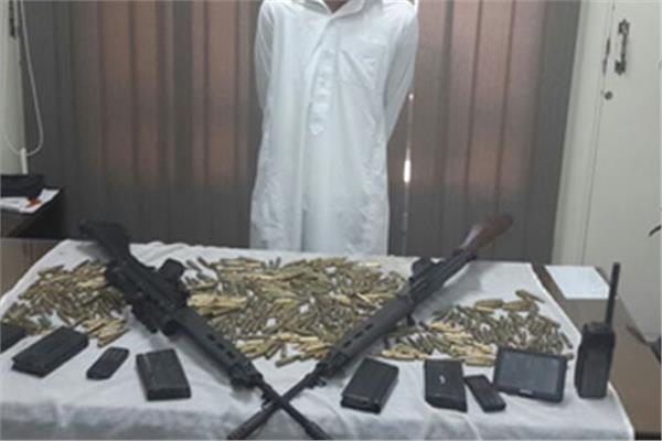 ضبط 16 قضية مخدرات و3 بندقية آلي بالجيزة