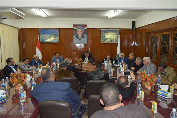 لقاء موسع لعمال الكيماويات بمصر وفلسطين وتونس