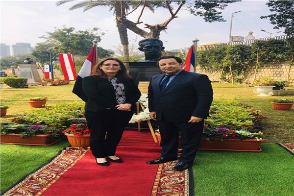 سفارة كوبا بالقاهرة تحتفل ببطلها القومي
