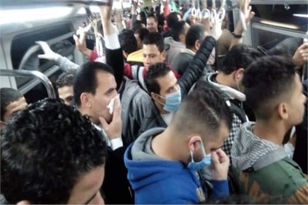 مصدر: «الكمامة» شرط ركوب مترو الأنفاق بعد إجازة عيد الفطر