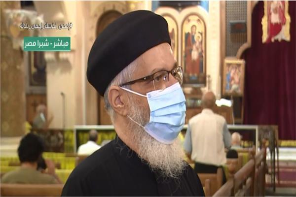 فيديو راعي كنيسة العذراء بشبرا الدخول بتطبيقوحضور القداسة مرة في الشهر