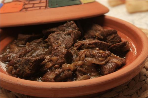 «أكلات العيد» «طاجن كباب الحلة»
