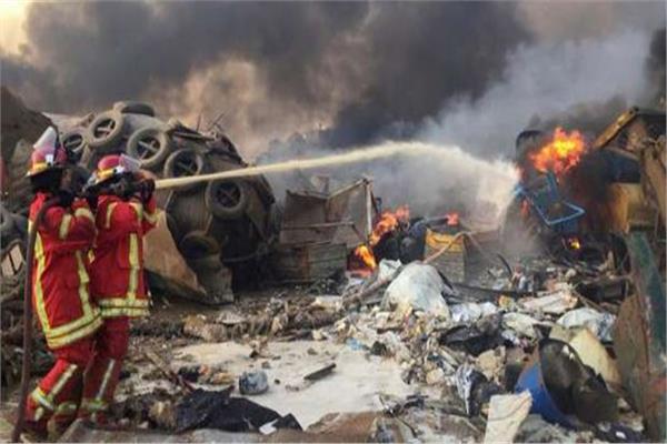 فيديو محلل سياسى لبناني الانفجار دمر نصف بيروت