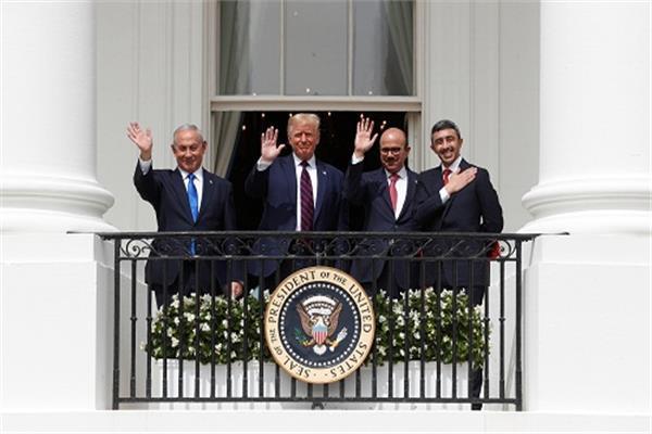 خبر مصر | عرب وعالم / فيديو| انطلاق مراسم توقيع اتفاقية التطبيع في واشنطن