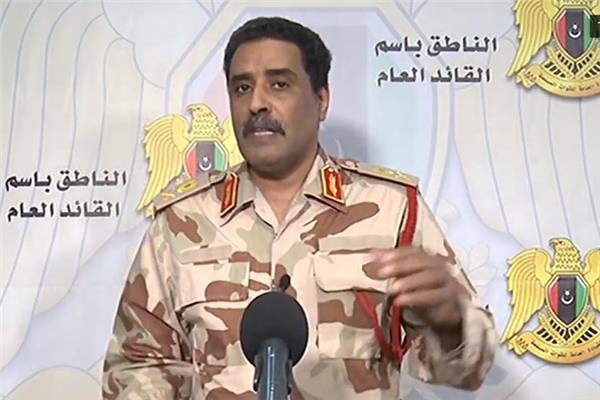 المسماري الجيش الليبي ملتزم باتفاق وقف إطلاق النار