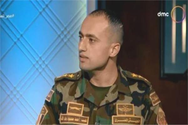 ضابط صاعقة بالجيشالموت والشهادة شرف والأهمالانتهاء من المهمة