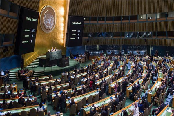 الأمم المتحدة تعتمد قرارا مصريا بشأن تعزيز السلام وحماية المواقع الدينية