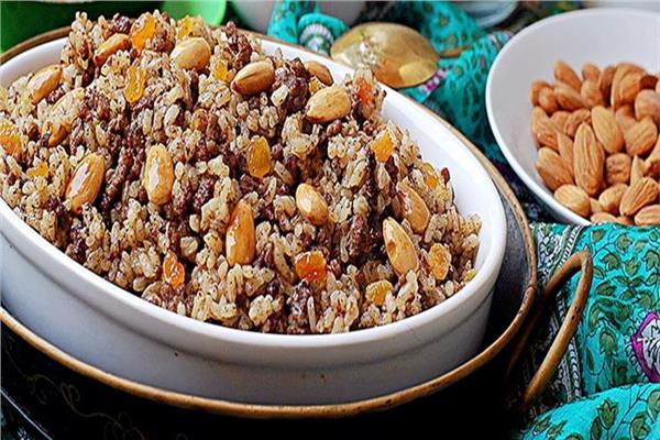 من المطبخ اللبناني طريقة عمل الأرز باللحمة المفرومة