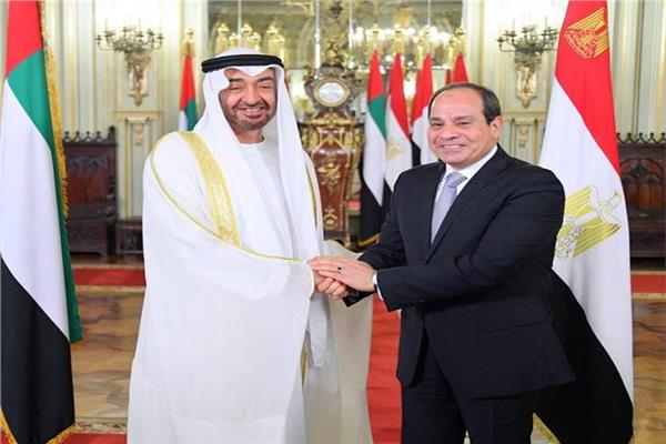 الرئيس السيسي يهنئ الشيخ محمد بن زايد بحلول شهر رمضان