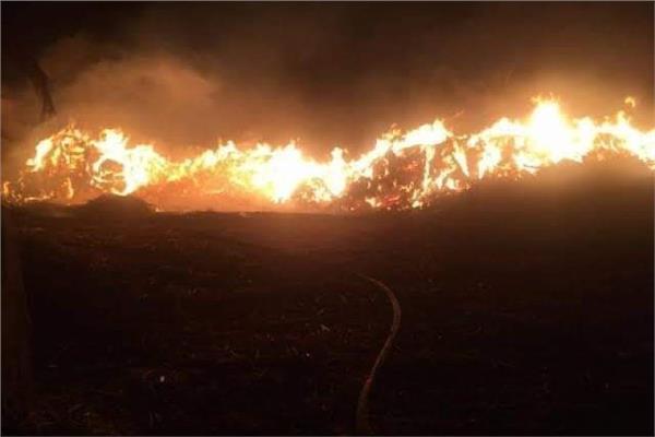 الحماية المدنية تتمكن من السيطرة على 3 حرائق دون إصابات في قنا