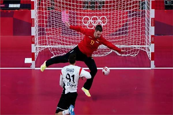 منسق الأولمبية منتخب اليد قدم مباراة عظيمة أمام السويد فيديو