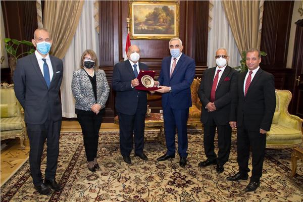 رئيس مجلس الشيوخ يستقبل سفير العراق