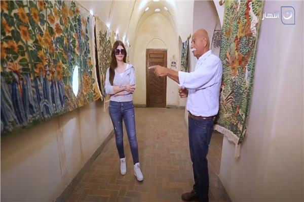 مدير متحف الحرانية «السجاد مش قص ولزق كل حتة مميزة» فيديو