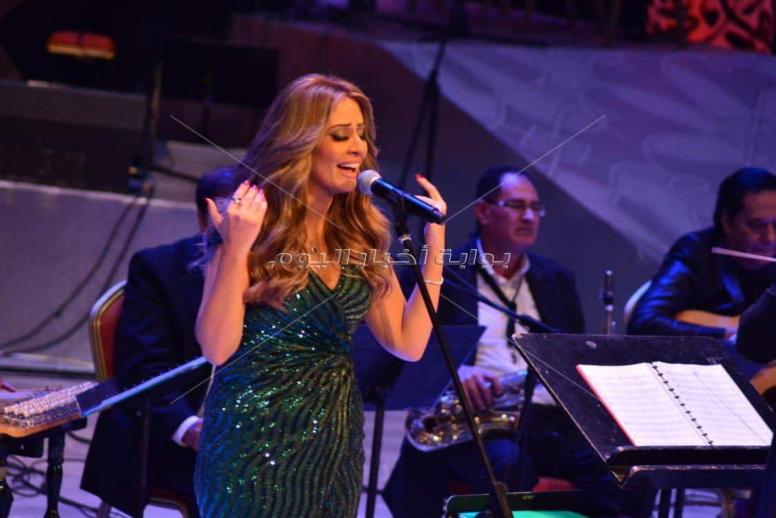 الشاروني ونهال نبيل في الليلة السابعة لمهرجان الموسيقى العربية