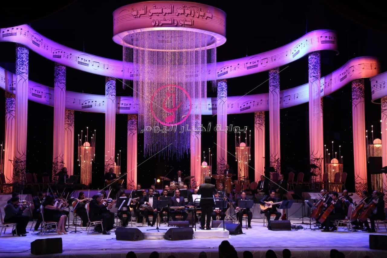 تفاصيل سابع ليالي مهرجان الموسيقى العربية