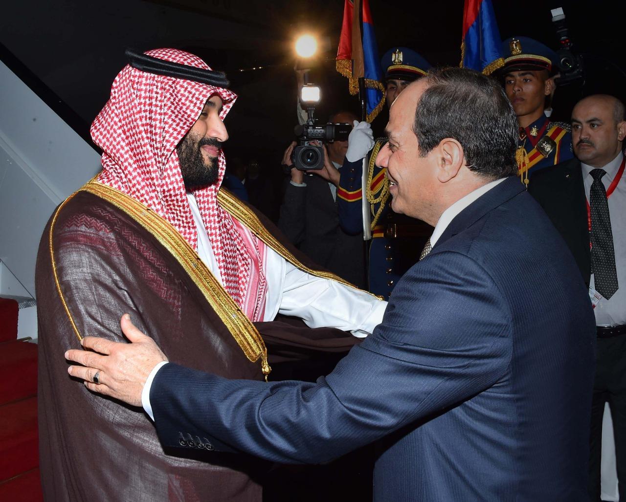 نتيجة بحث الصور عن السيسي يستقبل محمد بن سلمان
