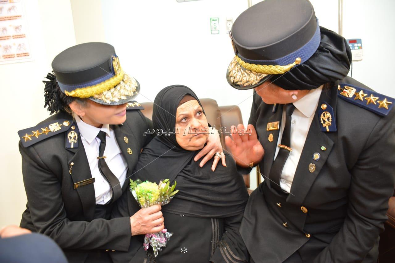 قطاع حقوق الإنسان بوزارة الداخليه فى زيارة لدعم مستشفي شفاء الأورمان بالأقصر