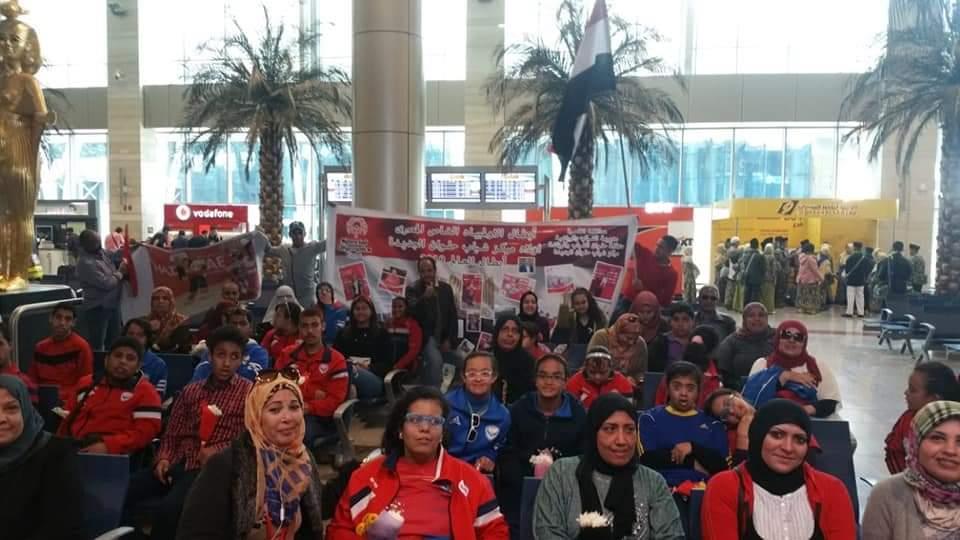 مطار القاهرة يعفي أقارب ومشجعي ذوي الاحتياجات من رسوم الدخول