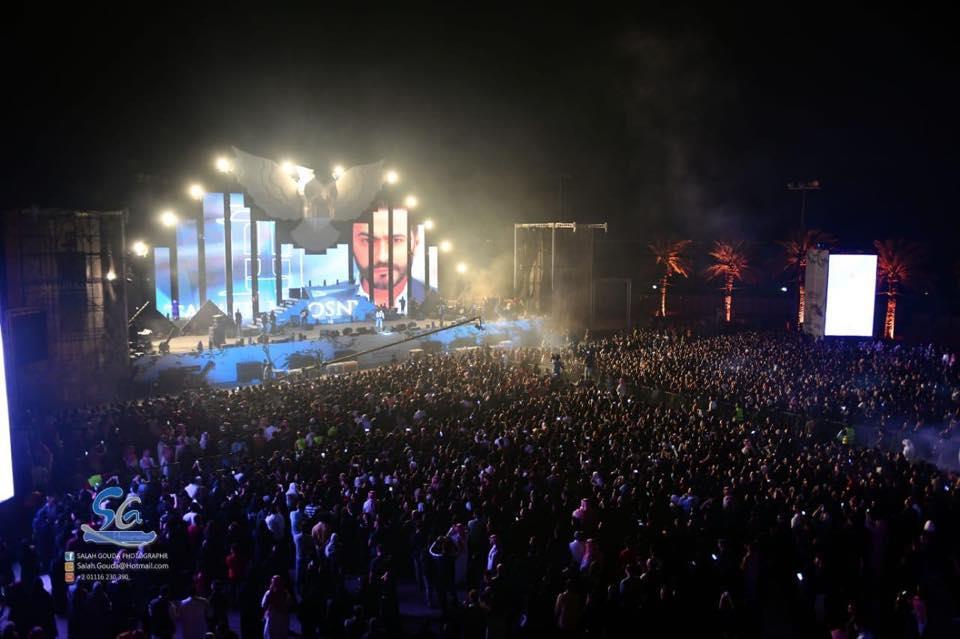 تامر حسني يُشعل الأجواء بحفل السعودية