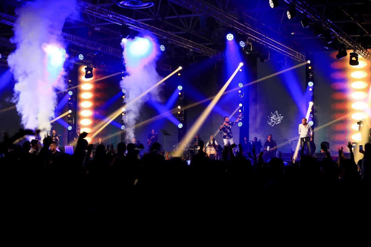 رامي صبري في حفل إسطوري بالسعودية.. وجمهور «المملكة» يرددون أغانيه