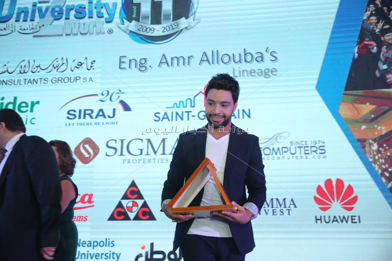 تكريم أحمد جمال باحتفالية «المهندسين الإستشاريين»