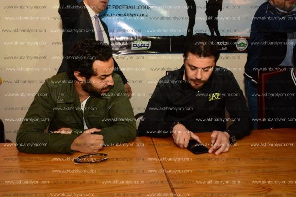 تامر حسني وأحمد حسن وحازم إمام يشاركون في حملة التبرع بالدم