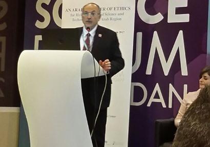 نائب وزير التعليم العالي يشارك في المنتدى العالمي للعلوم بالأردن