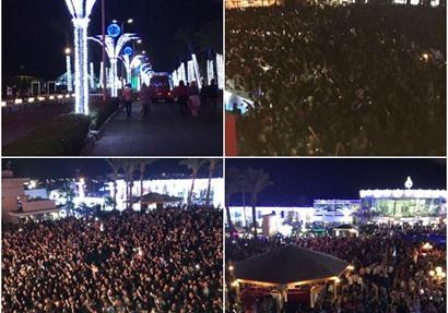 شرم الشيخ  تتجمل لاستقبال حفلات الكريسماس