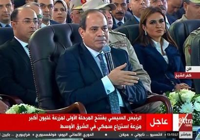 السيسي يوجه  تحذير شديد اللهجة محدش يقدر يمس مياه مصر