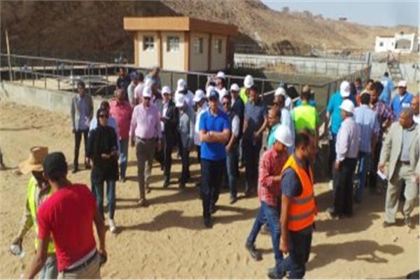 في اليوم الثالث لزيارة أسوان.. وفد البرلمان يصل أبو سمبل