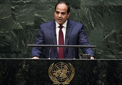ثلاث كلمات لـ«السيسي» في الأمم المتحدة.. أبرزها «الإرهاب والقضية الفلسطينية والسورية»