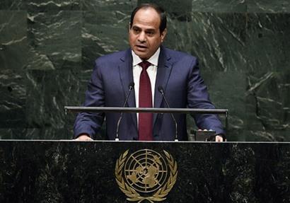 عاجل| السيسي: مصر تقع على حافة أخطر بؤر الأزمات في العالم