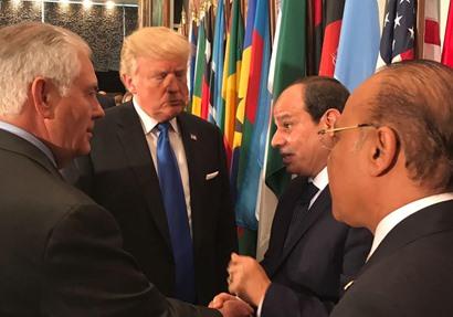 """الرئيس السيسي يلتقي بقيادات عالمية هامة أبرزها """"ترامب"""""""