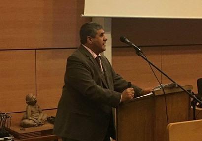 لواء أ.ح. سيد غنيم .. خلال محاضرتيه بأكاديميتي دفاع حلف الناتو والعسكرية الملكية البلجيكية ببروكسل